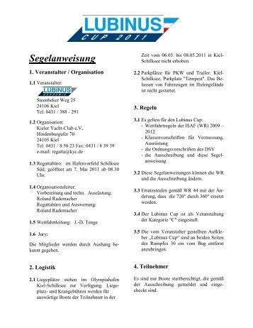 Segelanweisung - Platu25.de