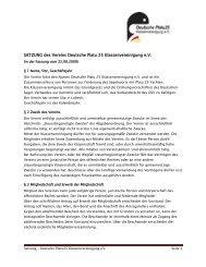 SATZUNG des Vereins Deutsche Platu 25 ... - Platu25.de
