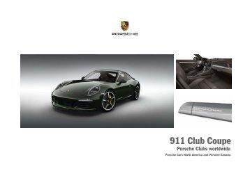911 Club Coupe - Porsche