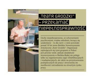 TeaTr Grodzki - Regionalny Ośrodek Wspierania Ekonomii Społecznej