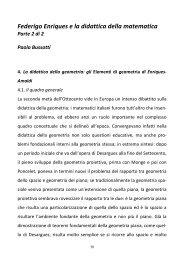 Paolo Bussotti -Federigo Enriques e la didattica matematica, parte 2 ...