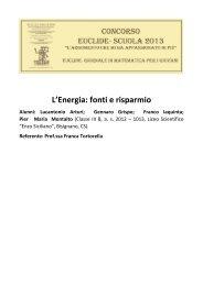 Tortorella, Franca e alunni della classe III B del Liceo Scientifico