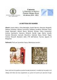 Fratus, Carmelita; Lanzini, Marialuisa e gli alunni della III B dell