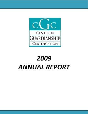 CGC Exam Handbook - Center for Guardianship Certification