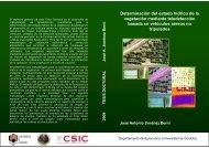 Determinación del estado hídrico de la vegetación ... - ResearchGate