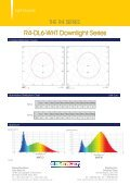 R4-DL6-WHT Downlight Series - ColorStars Group - Page 2