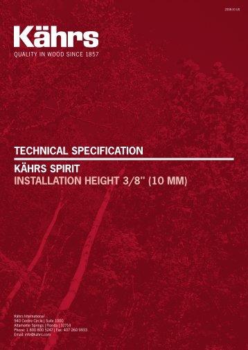 Kährs Spirit 10 mm