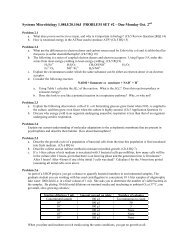 Systems Microbiology 1
