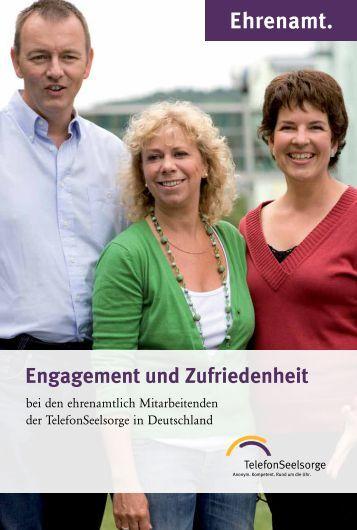 Broschüre Ehrenamt - Telefonseelsorge