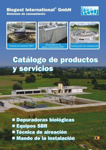 Catálogo de productos y servicios Catálogo de productos y servicios