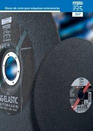 Discos de corte para máquinas estacionarias - Pferd