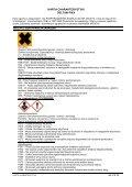 Karta charakterystyki zgodna jest z wymogami przepisów ... - Page 2