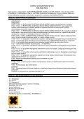 Karta charakterystyki zgodna jest z wymogami przepisów ... - Page 3