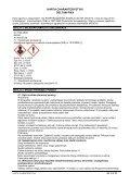 Karta charakterystyki zgodna jest z wymogami przepisów ... - Page 4