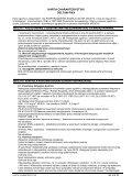 Karta charakterystyki zgodna jest z wymogami przepisów ... - Page 6