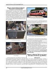 vasúti innováció eredményei - Vasútgépészet