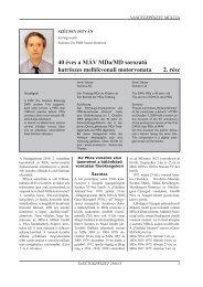 40 éves a MÁV MDa/MD sorozatú hatrészes ... - Vasútgépészet