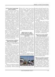 HÍREK A VASÚT VILÁGÁBÓL VASÚTGÉPÉSZET 2010/3 25