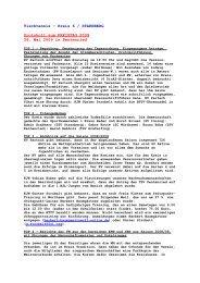 Protokoll zum Kreistag 2009 - Starnberg