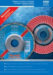 Le disque à lamelles POLIFAN®-STRONG-FREEZE - Pferd