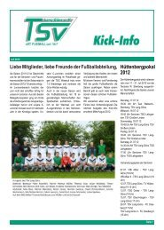 Ausgabe Juli 2012 - TSV Lang-Göns