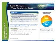Human Resource Management Flyer - Reynolds and Reynolds