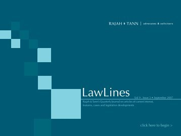 Lawlines Volume 9 Issue 3 - eOASIS