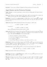 Angle Measure and the Protractor Postulate