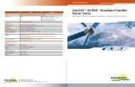 InterSKY™ 4G BSR - Broadband Satellite Router Series