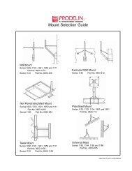 VSAT Mount Selection Guide - JrSat