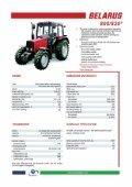 Belarus Tractor Brochure (pdf) - Page 4