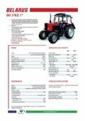 Belarus Tractor Brochure (pdf) - Page 5