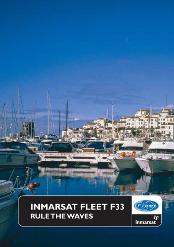 Inmarsat Fleet F33 Brochure - Stratos Global Corporation
