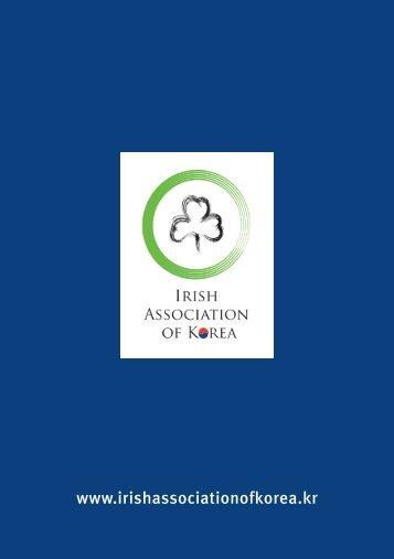 Irish Association of Korea Book