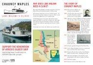 Chauncy Maples Leaflet - Thomas Miller