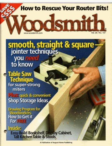 Woodsmith 167 - MetosExpo - Free