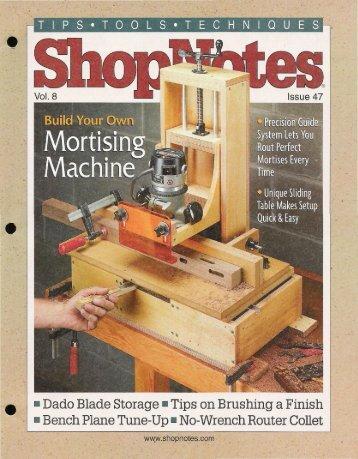 ShopNotes #47 (Vol. - MetosExpo