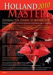 Zaterdag 9 en zondag 10 oktober 2010 - Uitslagen NADB wedstrijden