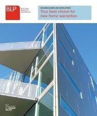 Housebuilders & developers brochure 01092010 - Thomas Miller
