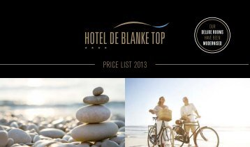 PRICE LIST 2013 - De Blanke Top