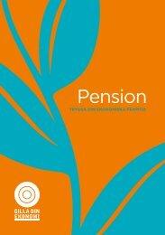 Broschyr: Pension - Folkuniversitetet