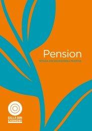 Pension - Gilla Din Ekonomi