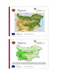 Bulgaria overview from Berlin conference - FUTUREforest