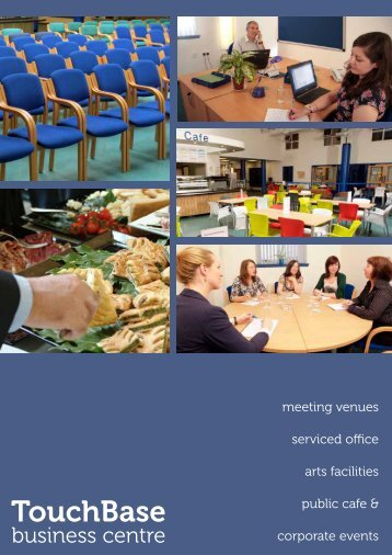 TouchBase Business Centre Brochure - Sense Scotland