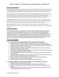 DaVinci Academy web site - DaVinci Academy of Arts and Science