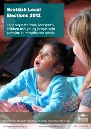 download here - Sense Scotland