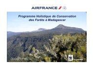 Programme Holistique de Conservation des Forêts ... - FUTUREforest