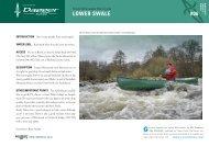 06 Lower RIver Swale Whitewater Guide - Canoe & Kayak UK