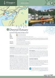 Dwyryd Estuary - Canoe & Kayak UK