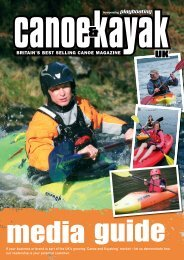 to download our Magazine Media Pack - Canoe & Kayak UK
